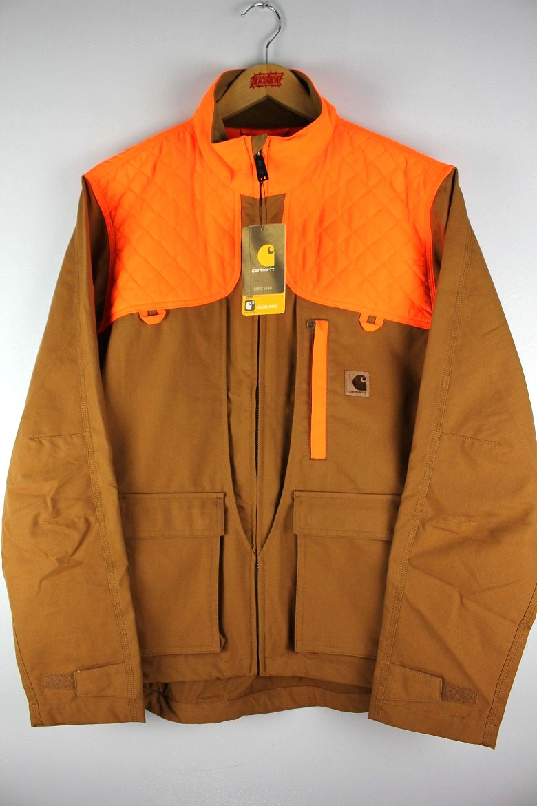CARHARTT / UPLAND FIELD JACKET / carhartt brown×orange