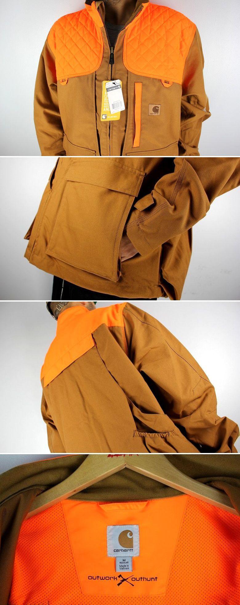 CARHARTT / UPLAND FIELD JACKET / carhartt brown×orange