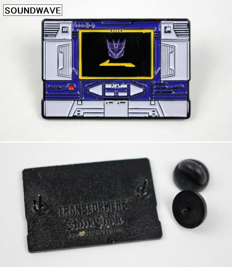 HAN CHOLO×TRANSFORMERS / CHARACTER PIN