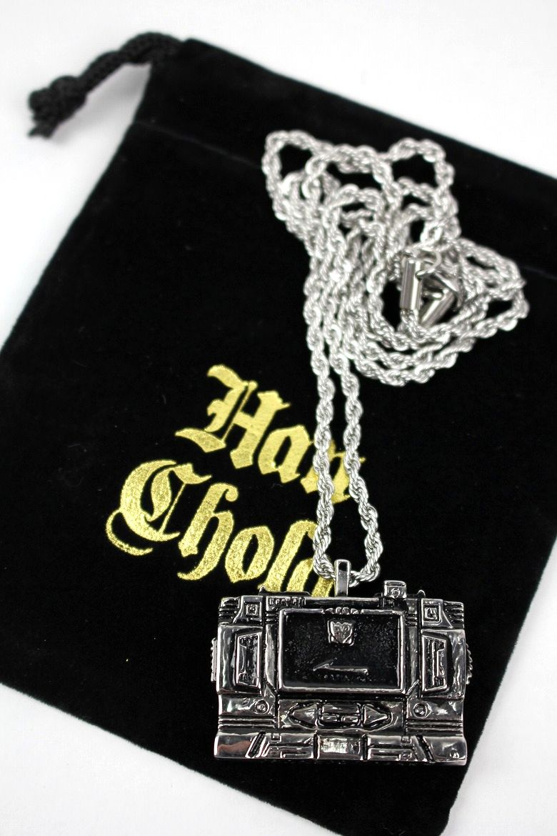 "HAN CHOLO×TRANSFORMERS / ""SOUNDWAVE"" NECKLACE / silver"