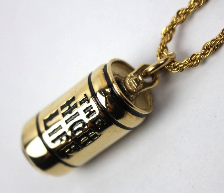 "HAN CHOLO / ""THE HIGH LIFE"" NECKLACE / gold"