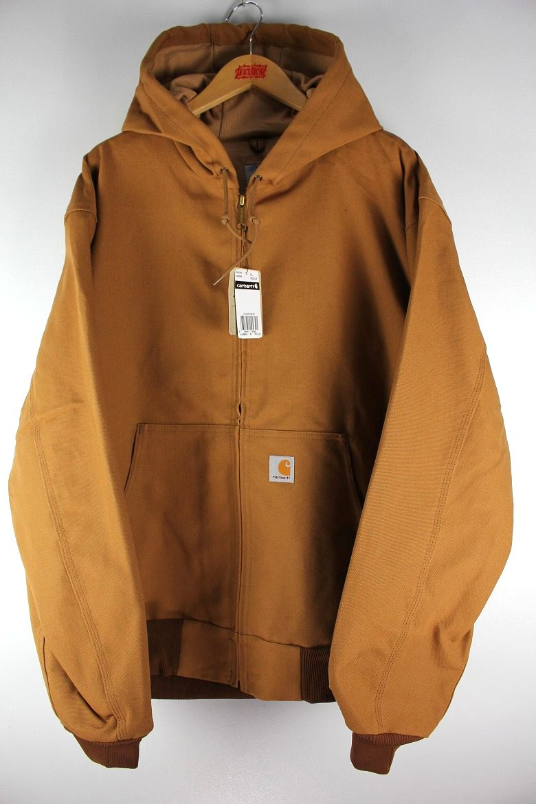 CARHARTT / THARMAL LINED ACTIVE HOODED JACKET (MADE IN USA) / carhartt brown