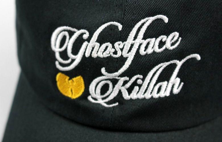 "WU-TANG CLAN / ""GHOSTFACE KILLAH"" STRAPBACK CAP / black"