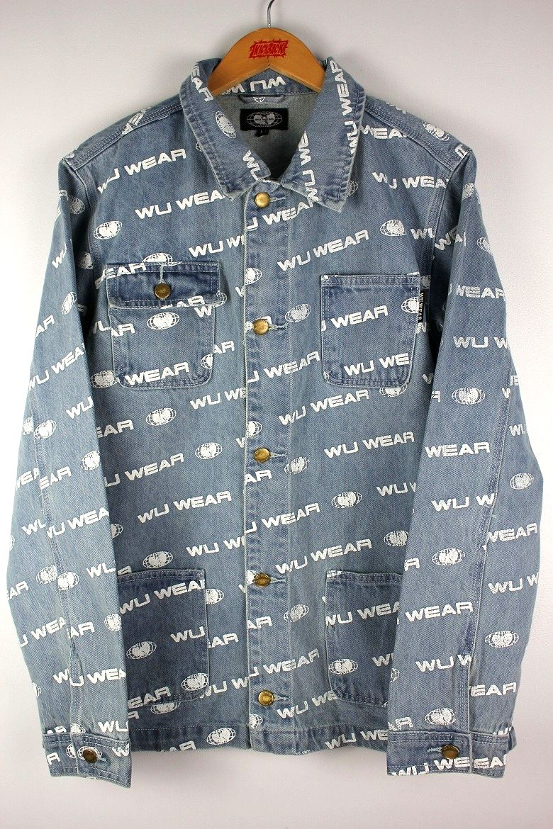 "WU WEAR / ""OG"" CHORE COAT / stone wash indigo"