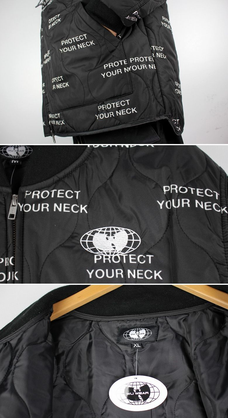 WU WEAR / GLOBAL WORK JACKET / black