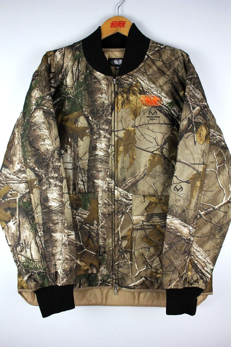 WU WEAR / GLOBAL WORK JACKET / real tree camo