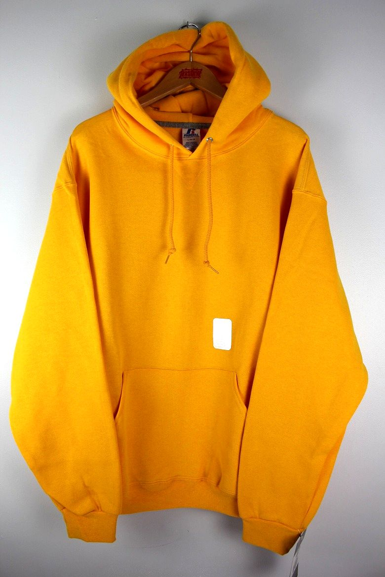 RUSSEL ATHLETIC / PULLOVER HOODY / yellow