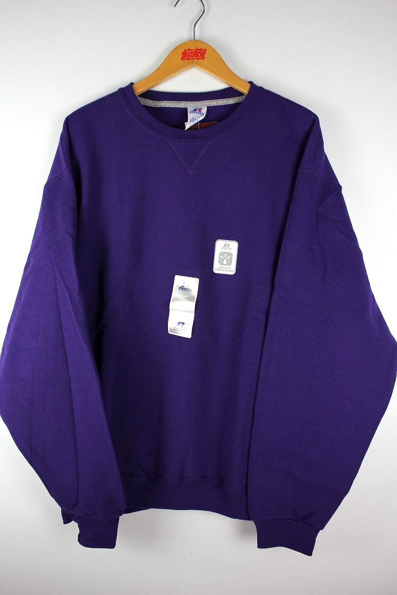 RUSSEL ATHLETIC / CREWNECK SWEAT / purple
