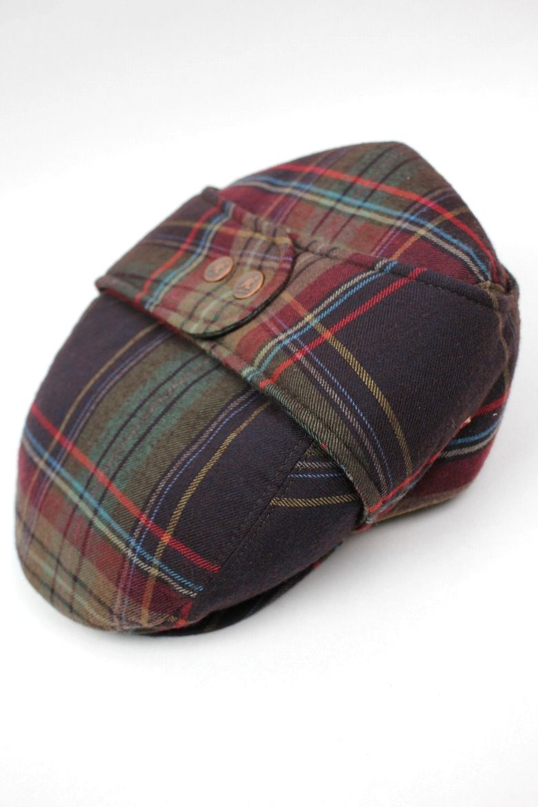 KANGOL / TWEED BUGATTI / turin plaid