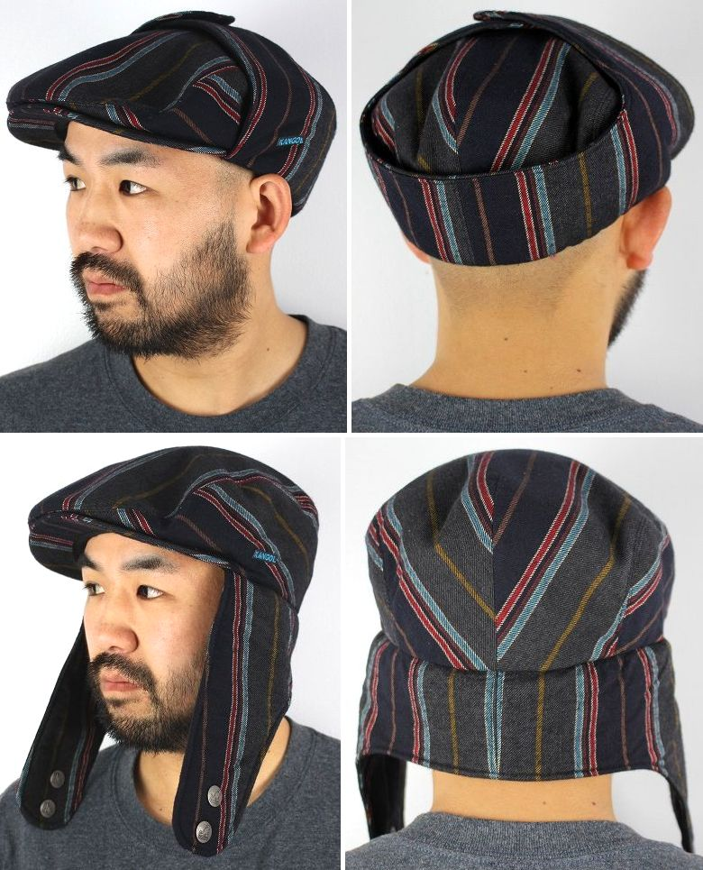 KANGOL / TWEED BUGATTI / college stripe