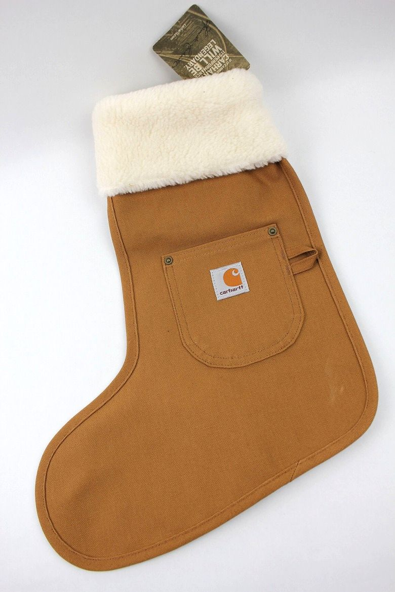 CARHARTT / CHRISTMAS STOCKING / carhartt brown