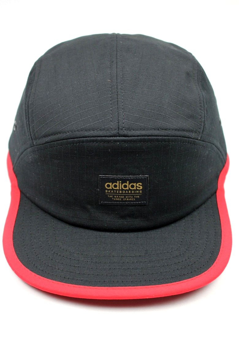 adidas skateboarding / POLAR 5-PANEL CAP/ black×red
