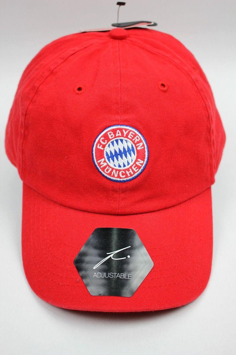 FC BAYERN MUNCHEN / STRAPBACK CAP / red