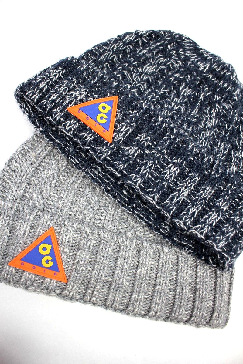 "ACAPULCO GOLD / ""AG CONDITIONS"" CABLE KNIT CUFF BEANIE"