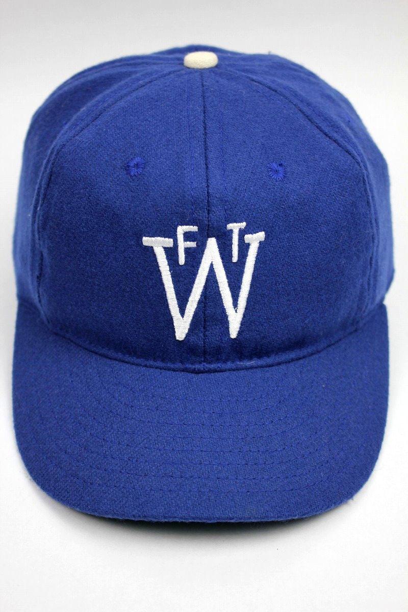 USED!!! EBBETS FIELD / WOOL FITTED CAP / dark blue