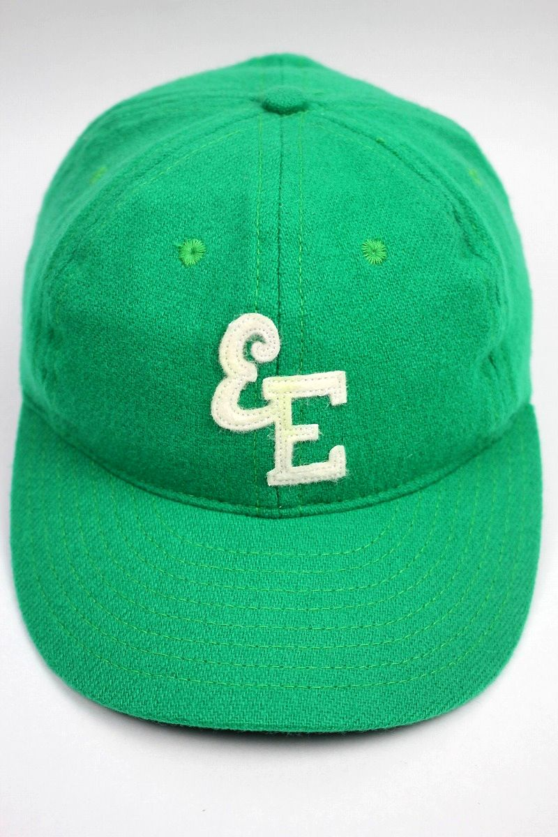 USED!!! EBBETS FIELD / WOOL FITTED CAP / green