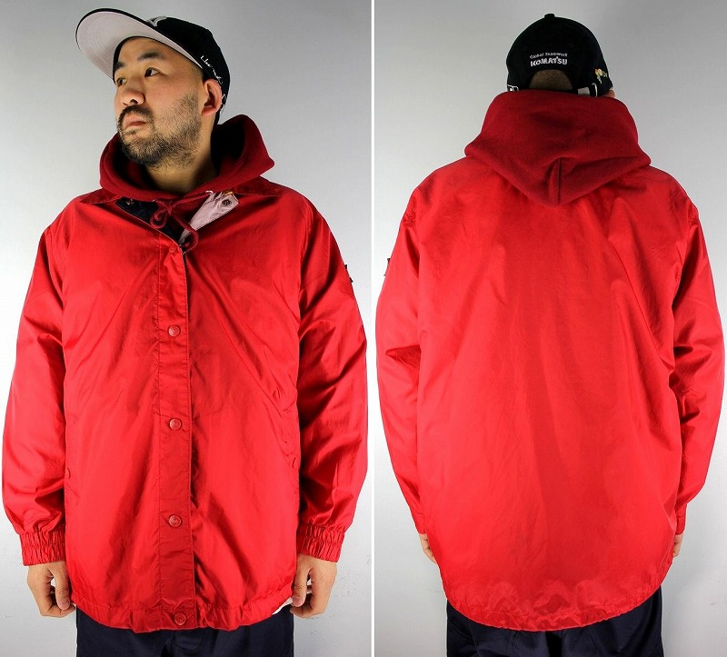 USED!!! TOMMY HILFIGER / COACH JACKET (90'S) / red