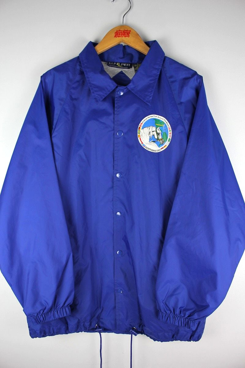 USED!!! LUNA PIER / COACH JACKET (2003年製) / blue