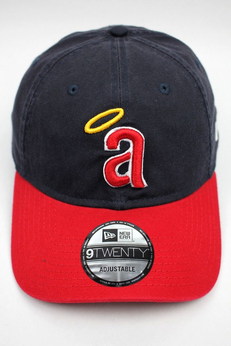 "NEWERA / ""CALIFORNIA ANGELS"" STRAPBACK CAP / navy×red"