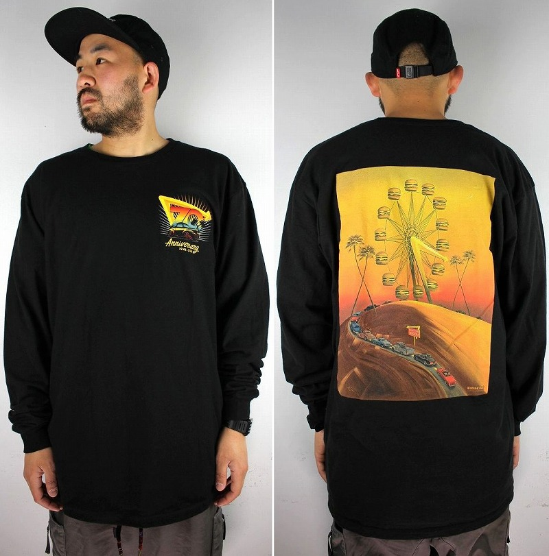 "IN-N-OUT BURGER / ""70TH ANNIVERSARY"" LS Tee / black"