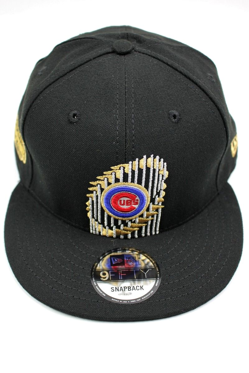 "NEWERA / ""CHICAGO CUBS - WORLD CHAMPION 2016"" SNAPBACK CAP / black"