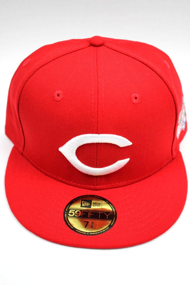 "NEWERA / ""CINCINNATI REDS"" 1990 WORLD SERIES FITTED CAP / red×white"