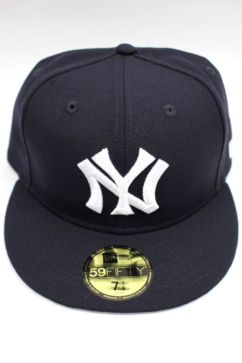 "NEWERA / ""NEWYORK YANKEES"" COOPERSTOWN COLLECTION FITTED CAP / navy×white"