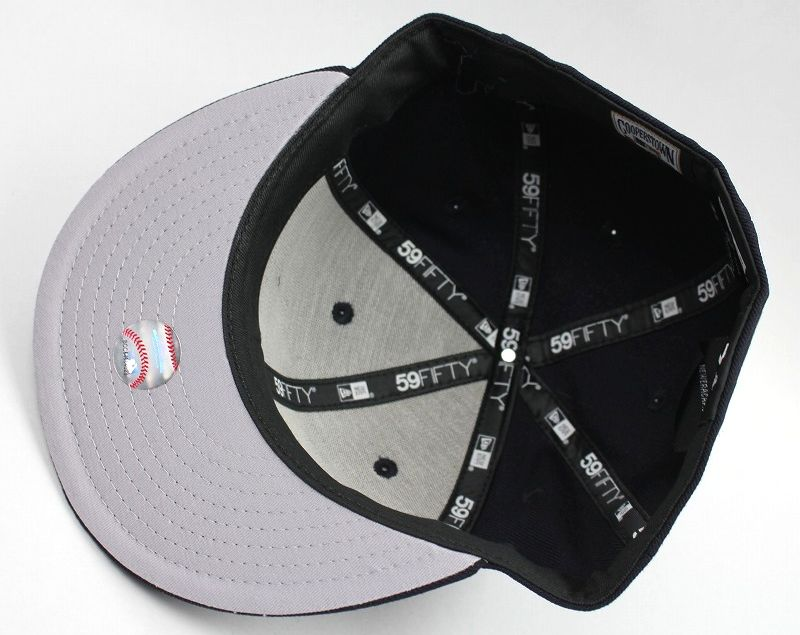 """NEWERA / """"NEWYORK YANKEES"""" COOPERSTOWN COLLECTION FITTED CAP / navy×white"""