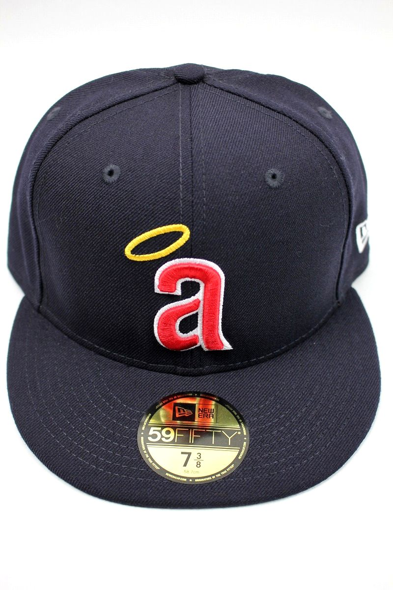 "NEWERA / ""CALIFORNIA ANGELS"" COOPERSTOWN COLLECTION FITTED CAP / navy"