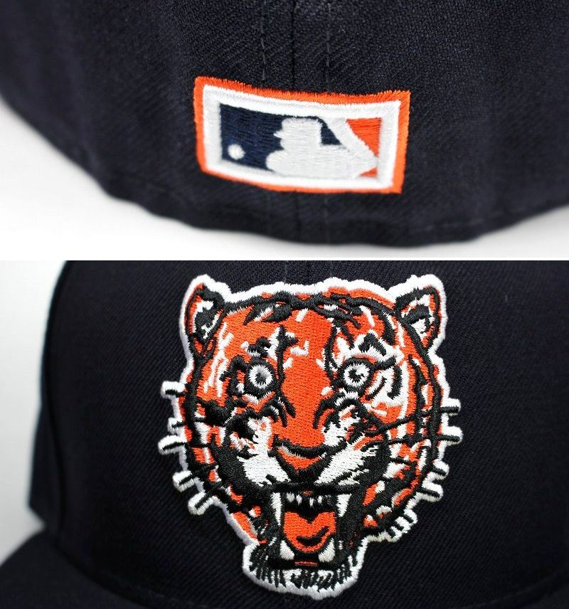"NEWERA / ""DETROIT TIGERS"" COOPERSTOWN COLLECTION FITTED CAP / navy"