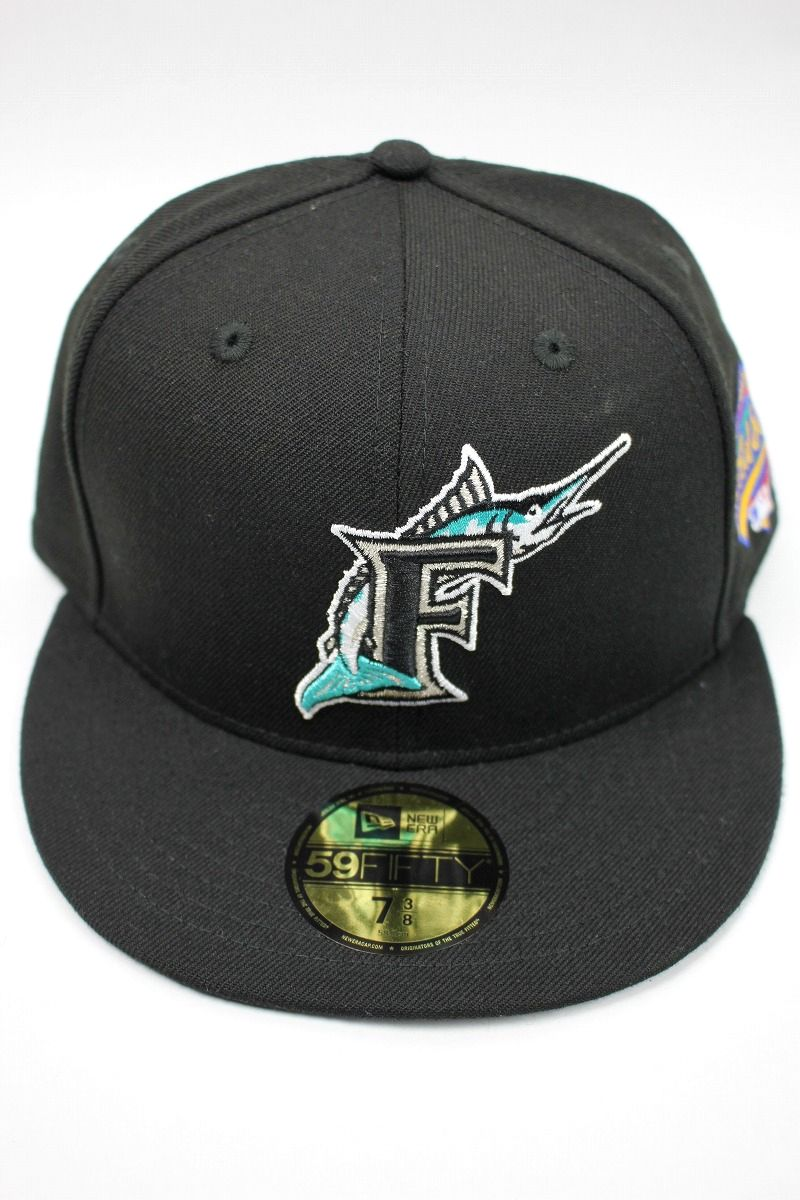 "NEWERA / ""FLORIDA MARLINS"" 1997 WORLD SERIES FITTED CAP / black"