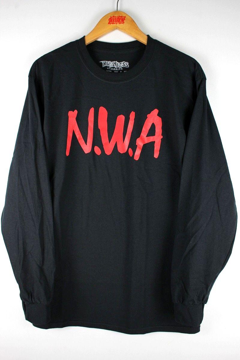 """N.W.A. / """"COMPTON"""" LS Tee / black"""
