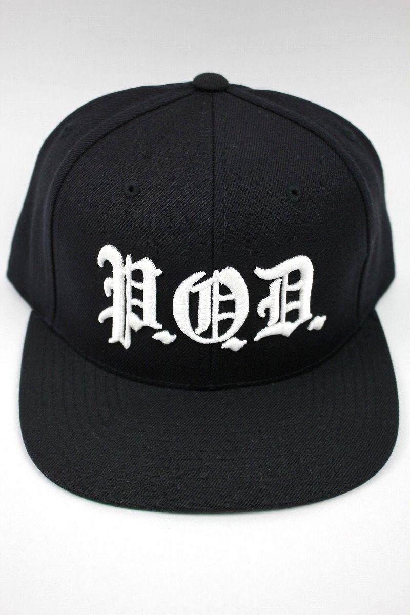 "P.O.D. / ""SOUTHTOWN"" SNAPBACK CAP / black"