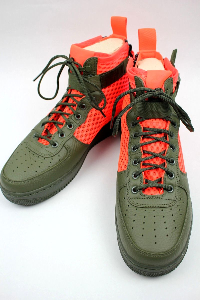 NIKE / SPECIAL FIELD AIR FORCE 1 MID QS / olive×orange