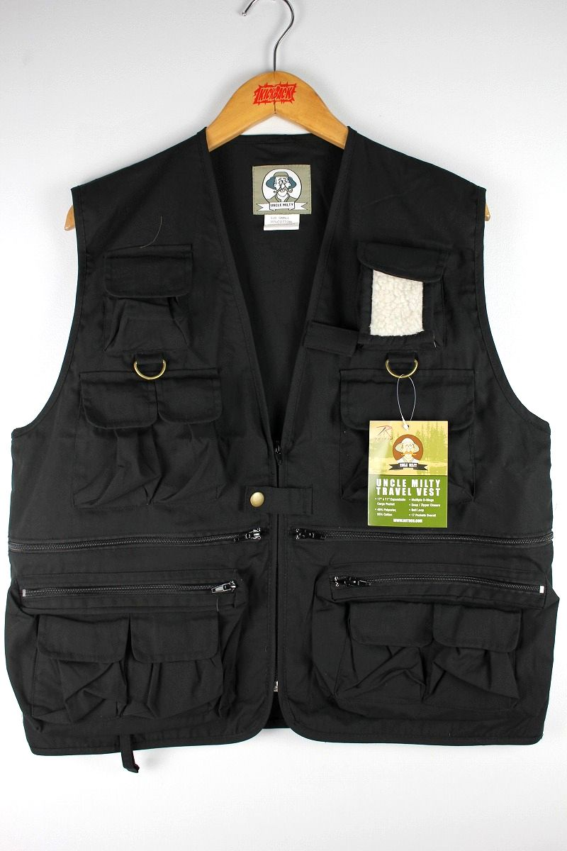 ROTHCO / UNCLE MILTY TRAVEL VEST / black