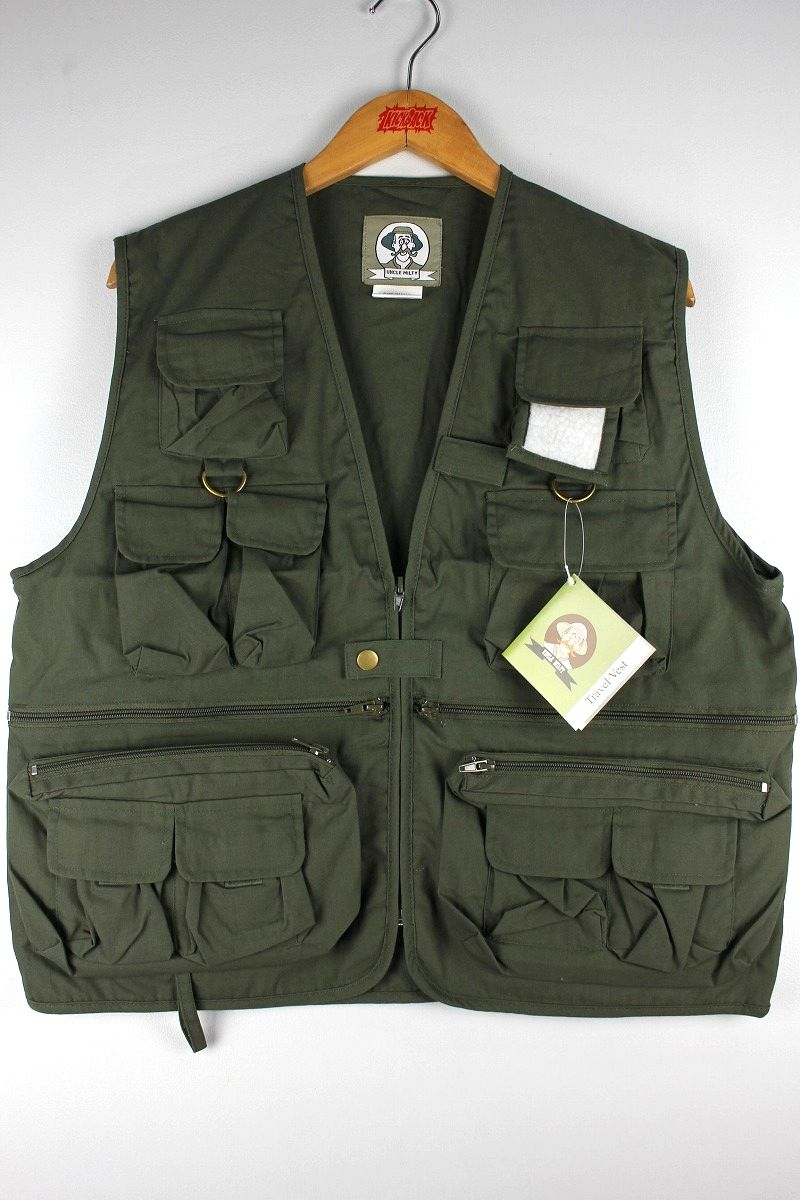 ROTHCO / UNCLE MILTY TRAVEL VEST / olive