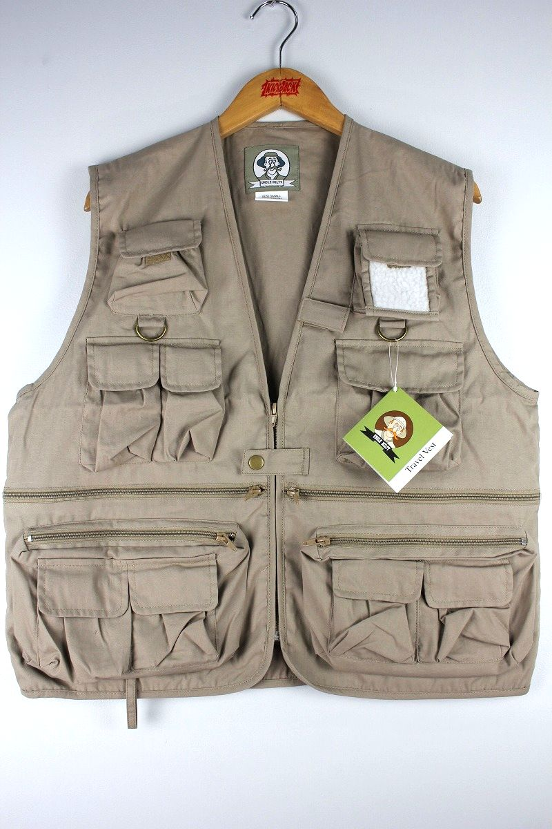 ROTHCO / UNCLE MILTY TRAVEL VEST / khaki