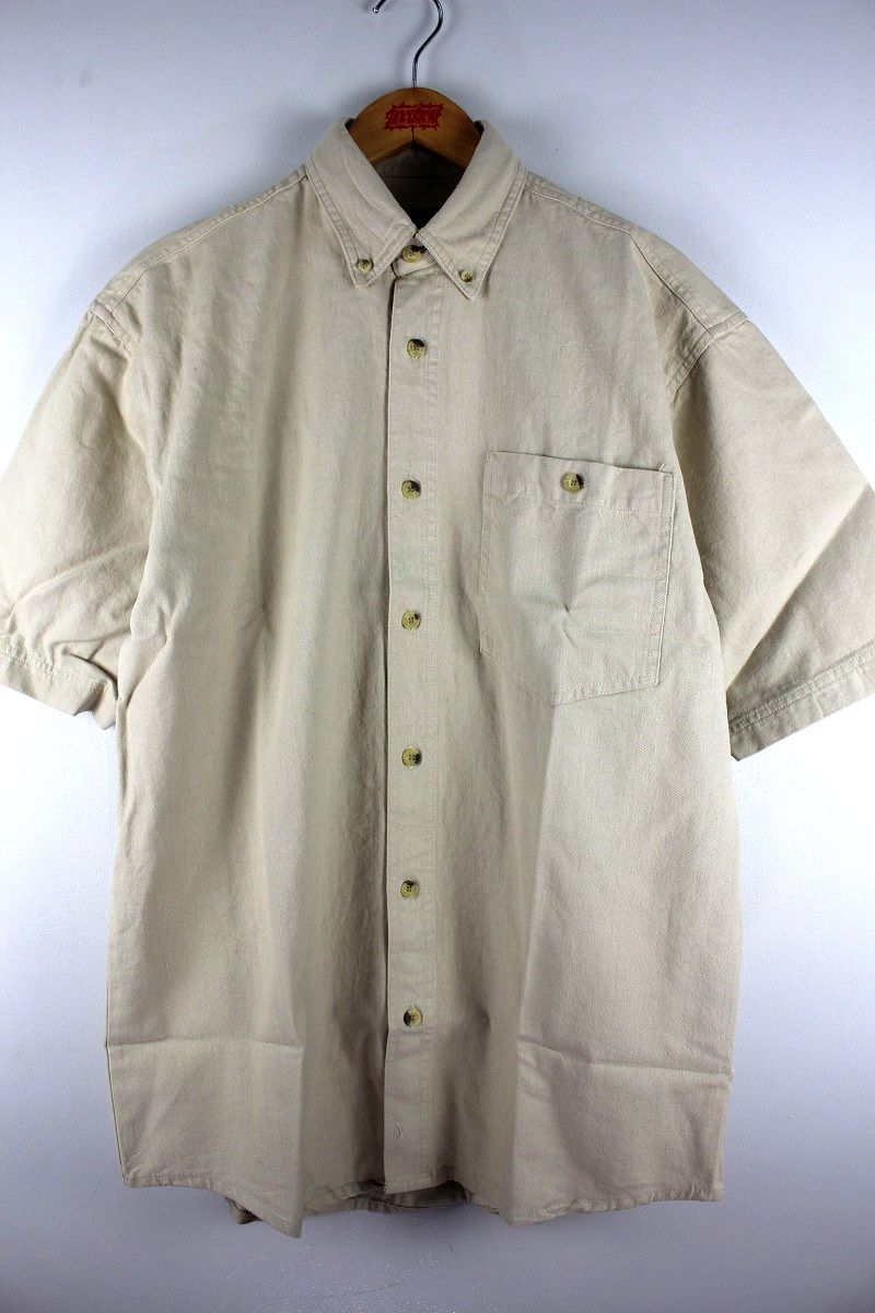 COBRA CAPS / RELAX FIT SS DENIM SHIRTS / ivory