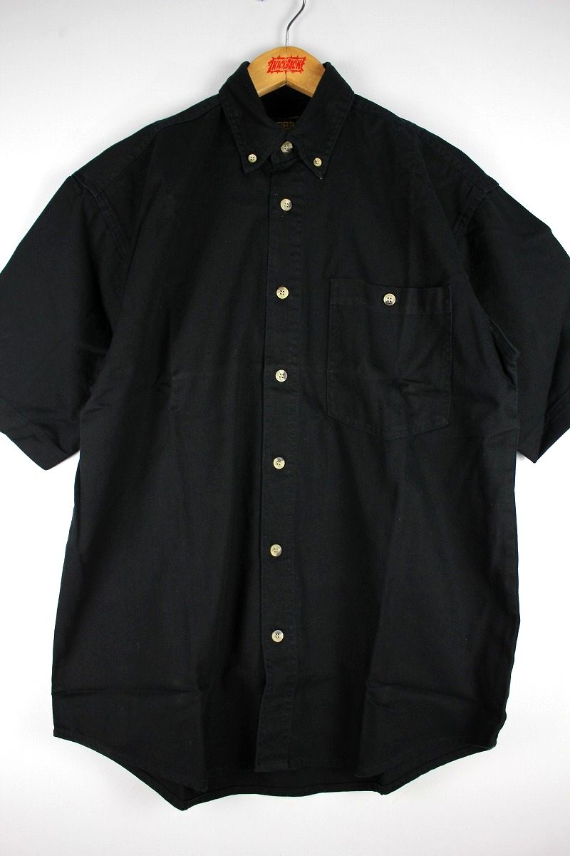 COBRA CAPS / RELAX FIT SS DENIM SHIRTS / black