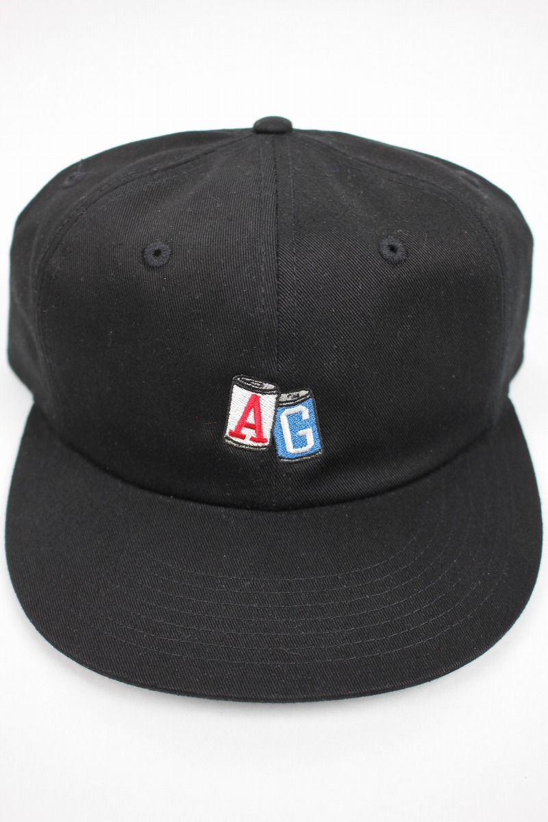 "ACAPULCO GOLD / ""AG CANS"" STRAPBACK CAP / black"