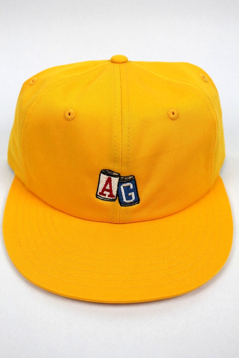 "ACAPULCO GOLD / ""AG CANS"" STRAPBACK CAP / yellow"