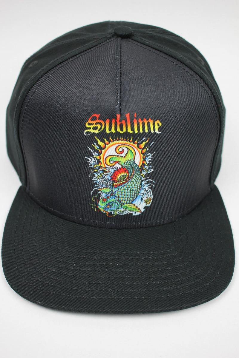 """SUBLIME / """"KOI"""" SNAPBACK CAP / black"""