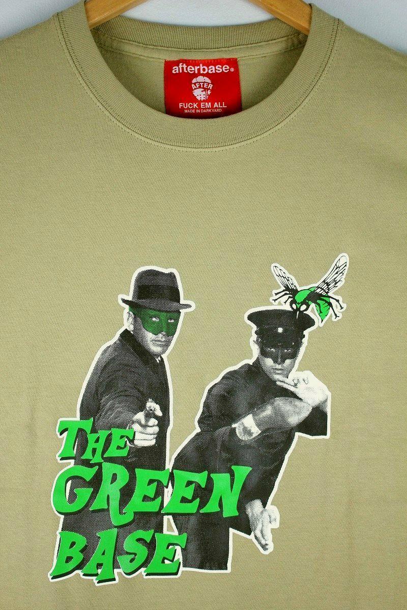 "AFTERBASE / ""GREEN BASE"" Tee / sand khaki"