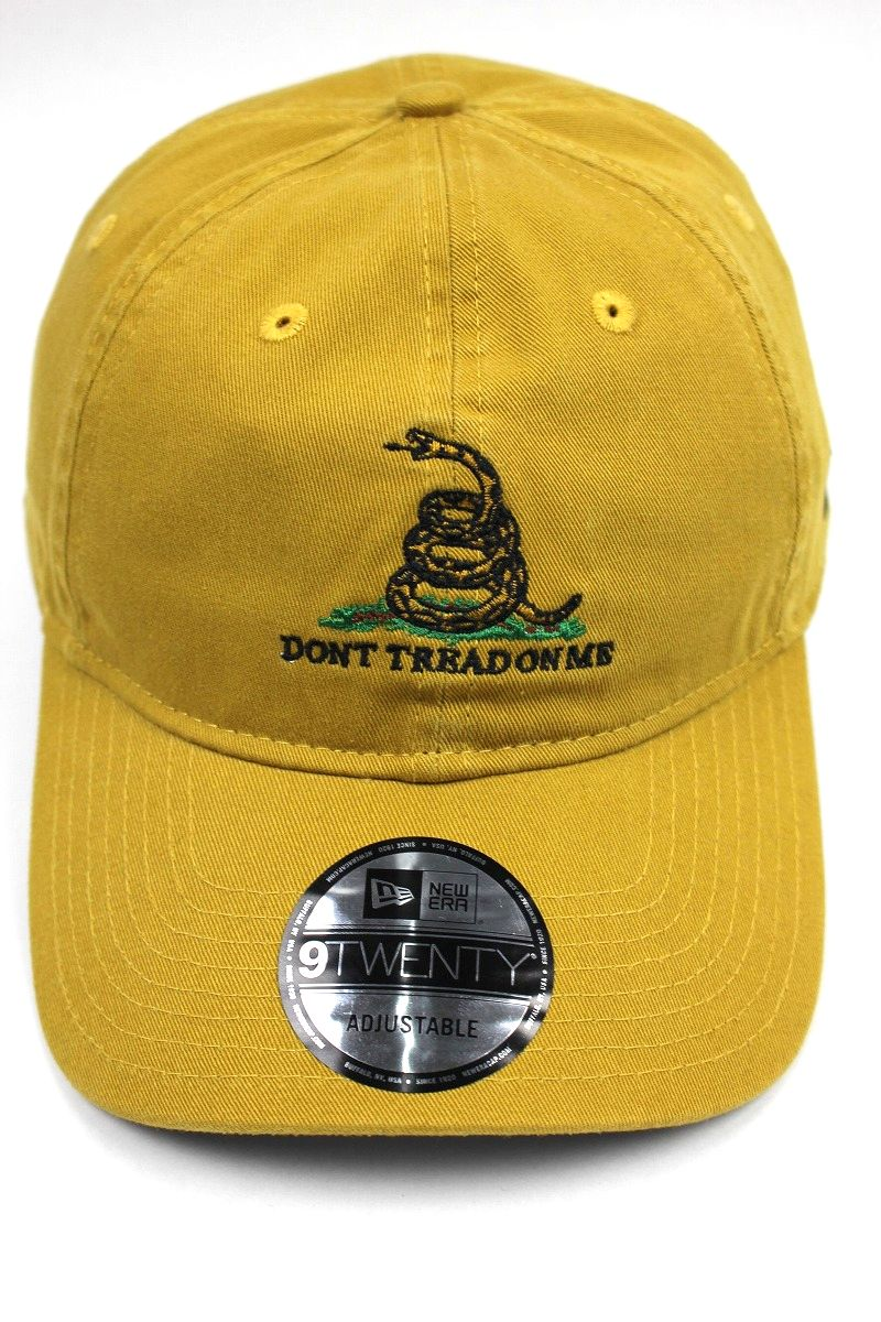 "NEWERA / ""Don't Tread On Me"" STRAPBACK CAP / ocher"