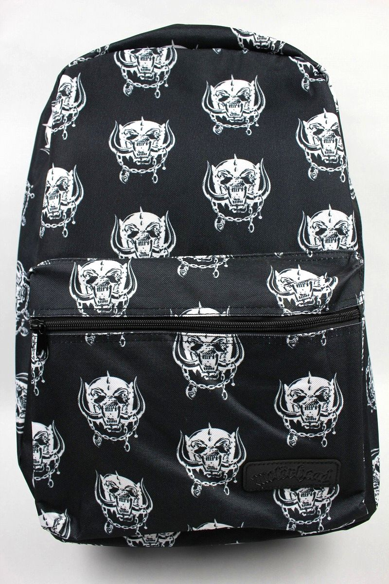 MOTORHEAD / ALLOVER PRINT BACKPACK / black