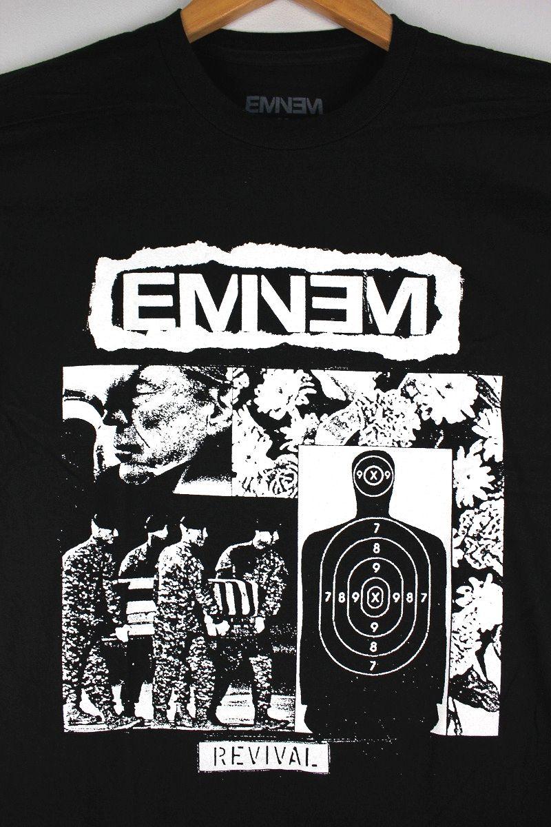 """EMINEM / """"BW TARGET COLLAGE"""" Tee / black"""