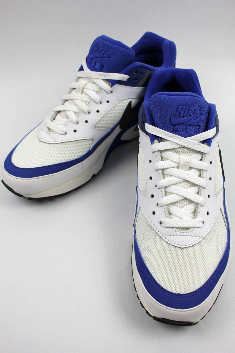 DEADSTOCK!!! NIKE / AIR CLASSIC BW TEXTILE (2012年製) / white×blue×chacoal