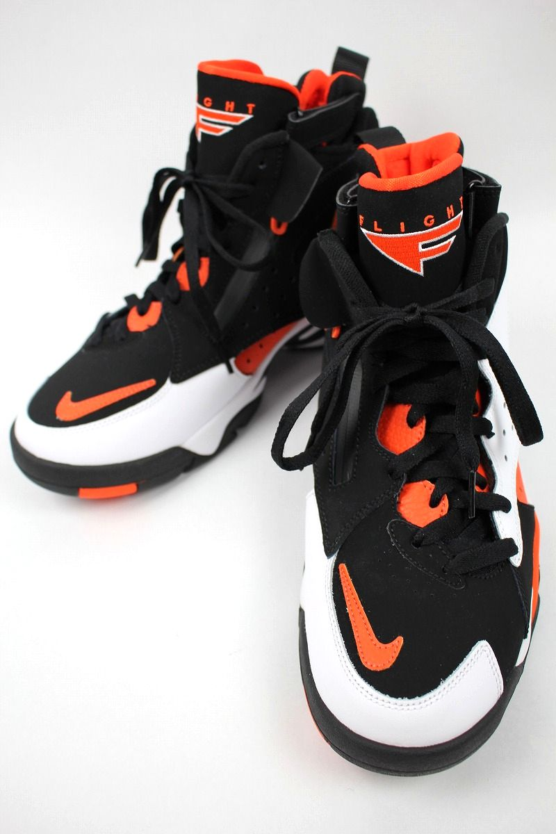 NIKE / AIR MAESTRO II LTD / black×white×orange