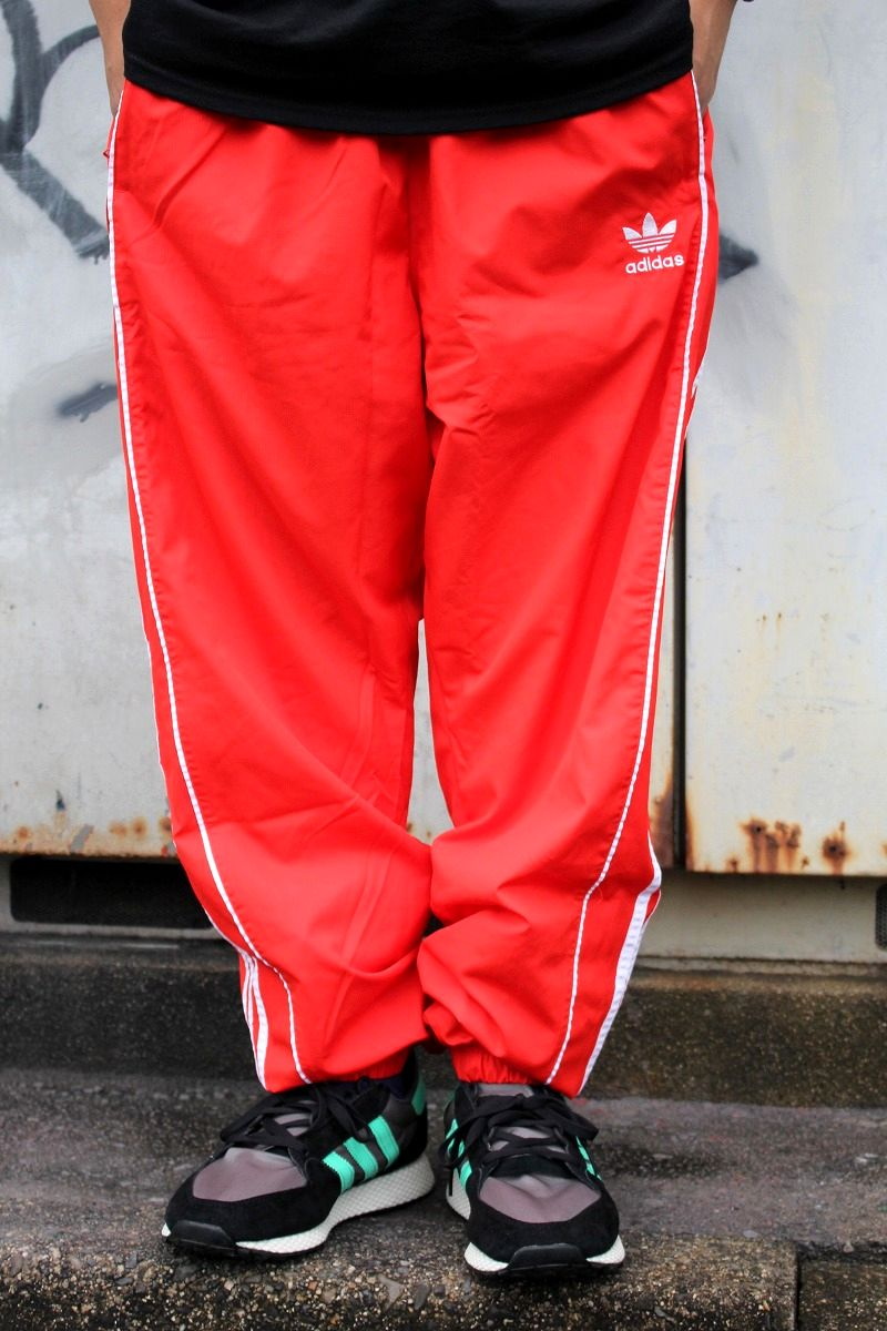 adidas ORIGINALS / AUTHENTIC LINED TRACK PANTS / vermilion×white