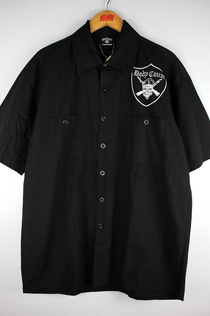 BODY COUNT / SS WORK SHIRTS / black